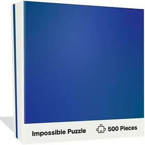 Impossible Blue Jigsaw Puzzle 500pcs Hardcore Difficulty Mind Bogglingly
