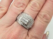 Sterling Silver Statement Ring s 8.5 Bella Luce Platineve White Diamond Simulant