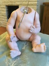 "11"" Antique KESTNER  Composition Baby Dolls Body.  one repair #"