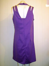 Gorgeous Purple Crossover Style Dress from Fashion Union - Size 16 - BNWT!!