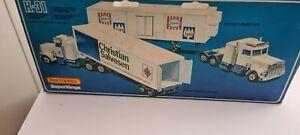 matchbox superkings truck coca cola pantec and Peterbilt prim mover