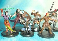 Dungeons & Dragons Miniatures Lot  Player Character Party !!  s114