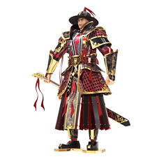 3d Metal Nano Puzzle The Imperial Guards of Ming Dynasty DIY Laser Cut Toy