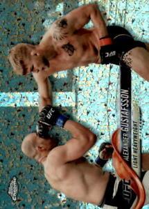 2018 Topps Chrome UFC Diamond #81 Alexander Gustafsson