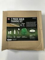 7pc Prospecting Mining Gold Panning Kit Green Gold Pan Classifier Plus More New