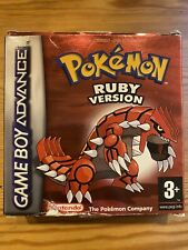 Pokemon Ruby Version (Game Boy Advance) - Original Box Only, NO Game Or Inserts