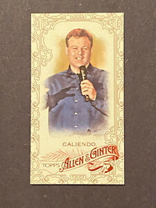 2015 TOPPS ALLEN & GINTER FRANK CALIENDO MINI 03 /40 SERIAL NUMBERED