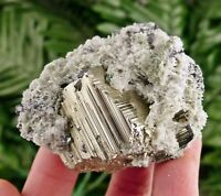 Quartz with Pyrite, Crystal, Mineral, Natural Crystal