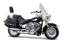 Harley Davidson 2000 FLSTC Heritage Softail Classic schwarz 1:18 von Maisto