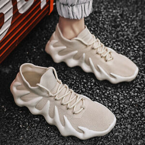 Men's Fashion Running Shoes Walking Sports Shoes Athletic Sneakers Tennis Trend