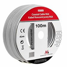Cable coaxial 1.0 CCS Rg6 100m MacLean Mctv-572