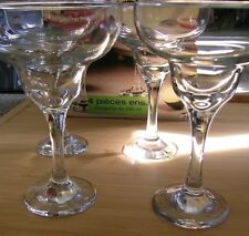 Set of 4 Circleware Cozumel 10oz Margarita design Cocktail Glasses 296ml