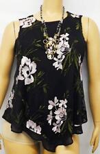 Alfani black light pink plus size floral embroidered sleeveless mesh top 0X, XL
