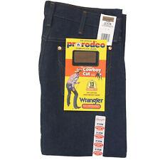 Vintage NOS Wrangler Men's 13MWZ 31x38 Cowboy Cut Original Fit Denim Blue Jeans