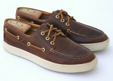 Sperry Top-Sider Gold Cup 8M Mens Boat Shoes Brown Leather