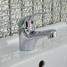 Modern Basin Mono Mixer Tap Bathroom Single Lever Brass Chrome 7707