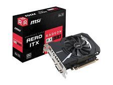 MSI Radeon RX 550 AERO ITX 4G OC, 4GB 128-Bit GDDR5 DirectX12 PCIe Graphics Card