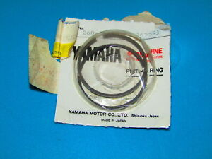 YAMAHA CHAMP 50 PW50 QT50 PISTON RING SET KIT 260-11601-03-00