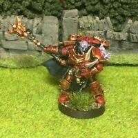 Painted Chaos Space Marine Chosen Champion Draznicht - Dark Vengeance Warhammer