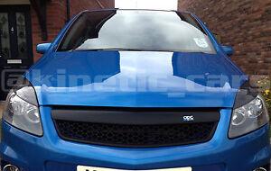 Vauxhall Zafira B  ABS carbon fibre effect eyebrows. inc VXR