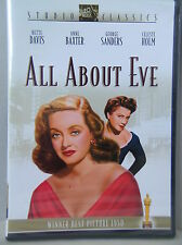 All About Eve (Fox Studio Classics) Bette Davis, Ann Baxter *New Factory Sealed*