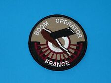 AVIATION PATCH INSIGNE MILITARIA BOOM OPERATOR FRANCE RAVITAILLEMENT EN VOL