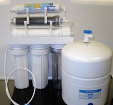 Dual Outlet Reverse Osmosis Water Filter System DI/RO 150 GPD Drinking/Aquariums