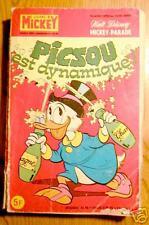 MICKEY PARADE n° 1363 bis : PICSOU EST DYNAMIQUE ! 1978