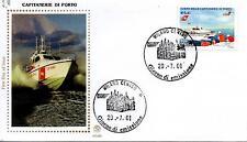Repubblica Italiana 2001 FDC Filagrano Gold Corpo delle Capitanerie di Porto