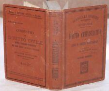 1908 LORIS DIRITTO AMMINISTRATIVO COSTITUZIONALE LEGGI