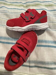 Under Armour~Red Tennis Shoes~Sz.5