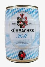 BIRRA KUHBACHER FUSTO 5 LITRI A CADUTA BEER FUSTINO GERMANIA IDEA REGALO NATALE