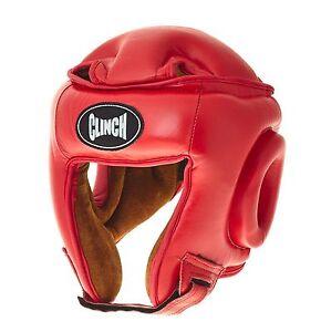 ABVERKAUF: Kopfschutz rot, echt Leder C192-R SONDERAKTION, Headguard