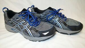 ASICS Men's SHOES T5N3N Gel Venture 5 Running Sneakers Gray Blue Size 10.5 US