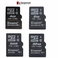 ORIGINAL KINGSTON MICRO-SD SDHC 4gb/ 8gb/ 16GB/ 32gb TF Flash C4
