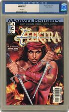 Elektra #3A Horn Uncensored 1st Printing CGC 9.8 2001 0115873011