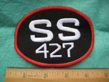 Chevrolet SS 427 Racing Service  Uniform Patch