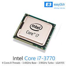 Intel Core i7-3770 3.4GHz cuatro núcleos 8M Desktop CPU Procesador SR0PK Socket 1155