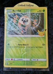 Alola First Partners | Pokémon 25th Anniversary | 3 JUMBO CARDS Set | Sealed New