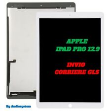 DISPLAY LCD +TOUCH SCREEN PER APPLE IPAD PRO 12.9 BIANCO A1584 A1652 VETRO NUOVO