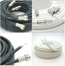 SKY+HD & Q  DIGITAL BOX EXTENSION/SATELLITE DISH CABLE DOUBLE/2 WIRE LEAD TWIN