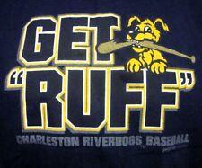 CHARLESTON RIVERDOGS minor T shirt Atlantic League baseball Get Ruff tee XS