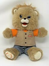 Teddy Ruxpin Bear 2017 Tested Working Bluetooth New Batteries