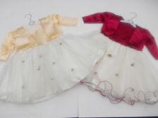 Vestiti raso avorio per bambine dai 2 ai 16 anni