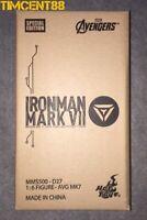 Ready! Hot Toys MMS500D27 Avengers Iron Man Mark VII 7 Diecast Tony Special 1/6
