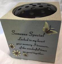 Someone Special grave vase, Ornament