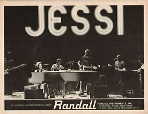 1976 Jessi Colter for Randall Instruments - Vintage Ad