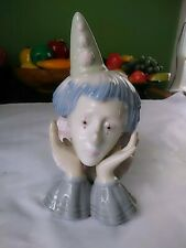 Clown Figure By Meico Inc Great Details Delicate Nose and Fingers