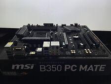 MSI B350 PC Mate | AMD Socket AM4 | Ryzen 2000 | AMD Crossfire