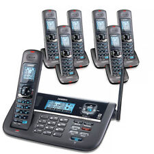 Uniden DECT4086-7 Cordless Phone with Backlit LCD screen�& 6 Extra Handsets